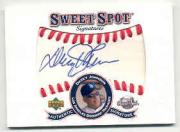 2001 Sweet Spot Signatures #SDJ Davey Johnson