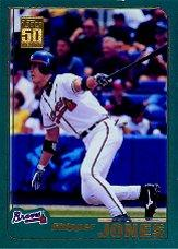 2001 Topps #2 Chipper Jones