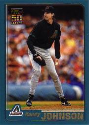 2001 Topps #75 Randy Johnson