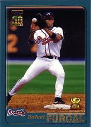 2001 Topps #319 Rafael Furcal