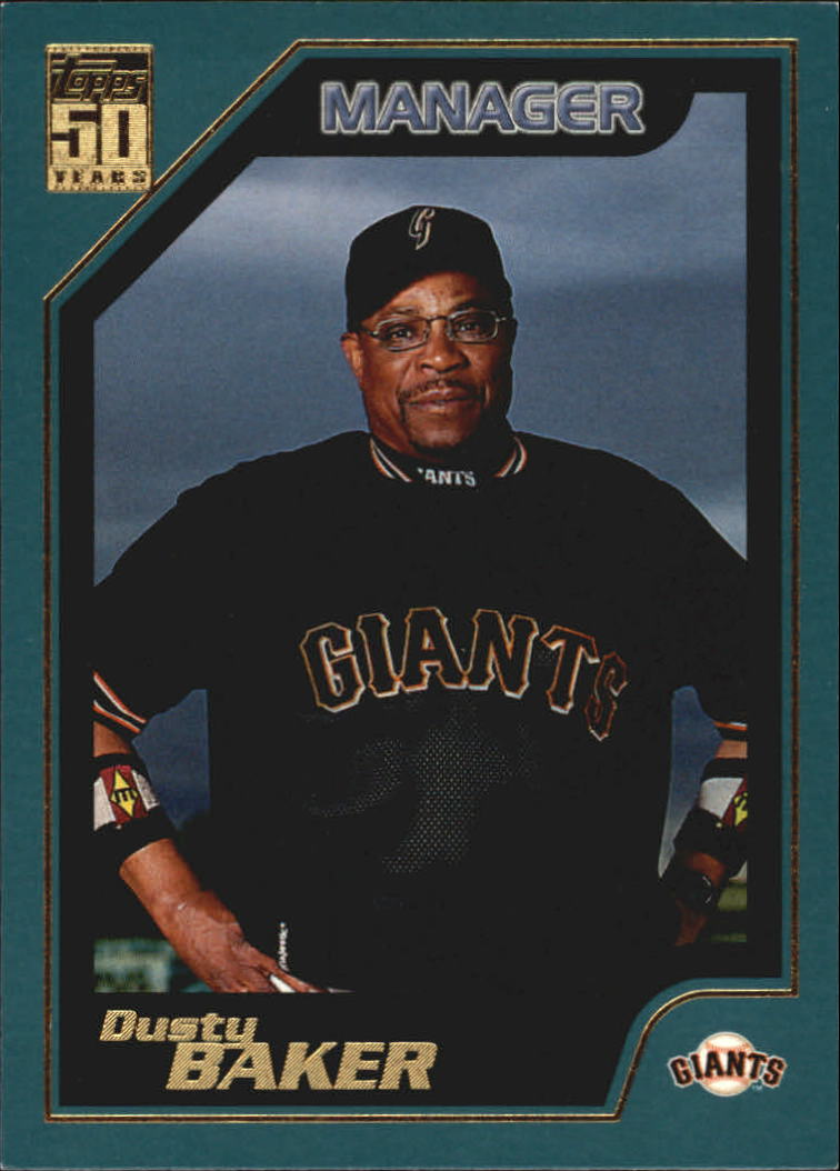 2001 Topps #351 Dusty Baker MG