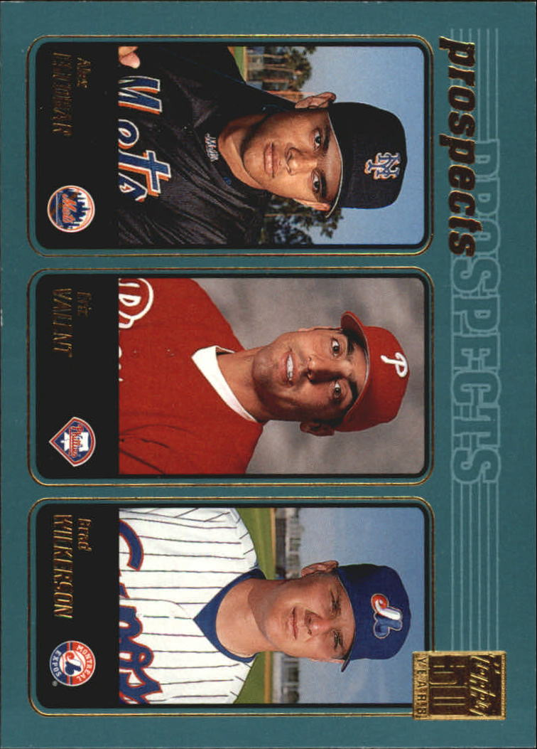 2001 Topps #733 Escobar/Valent/Wilkerson
