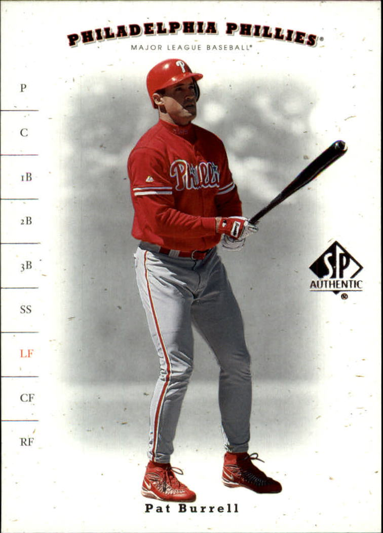 2001 SP Authentic #80 Pat Burrell