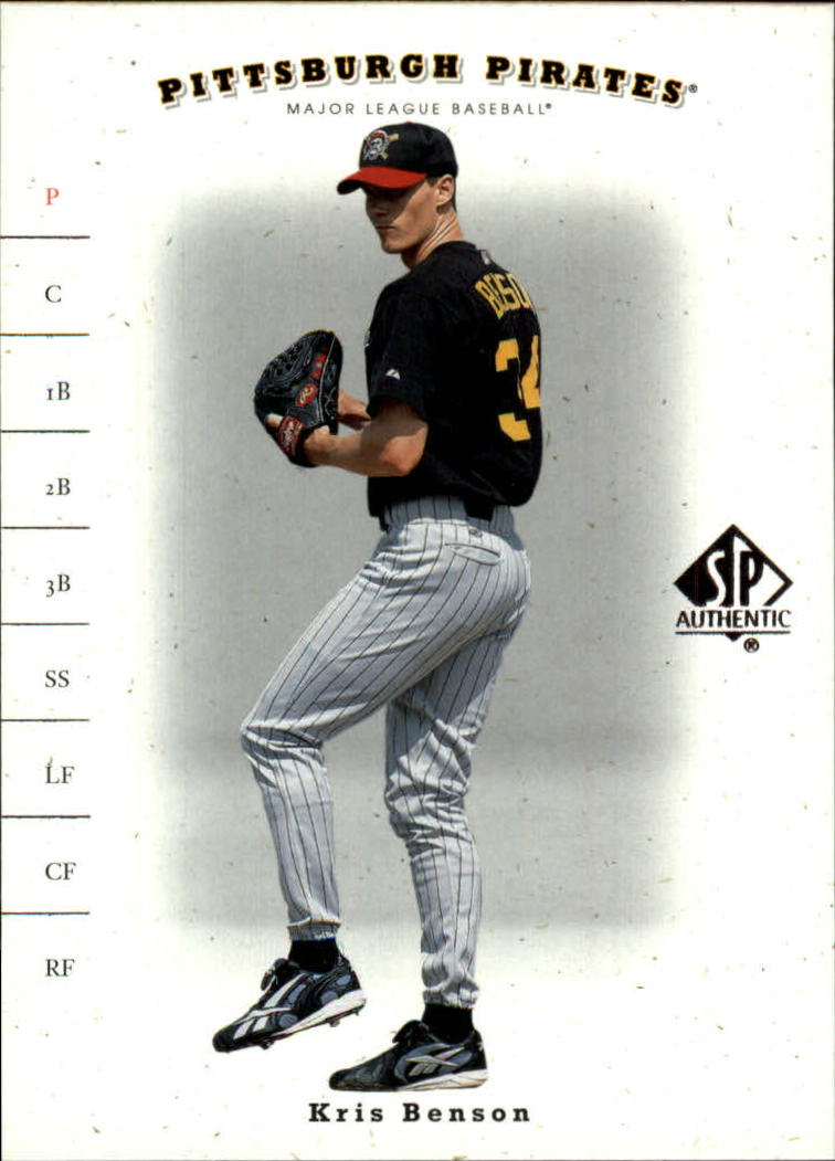 2001 SP Authentic #84 Kris Benson