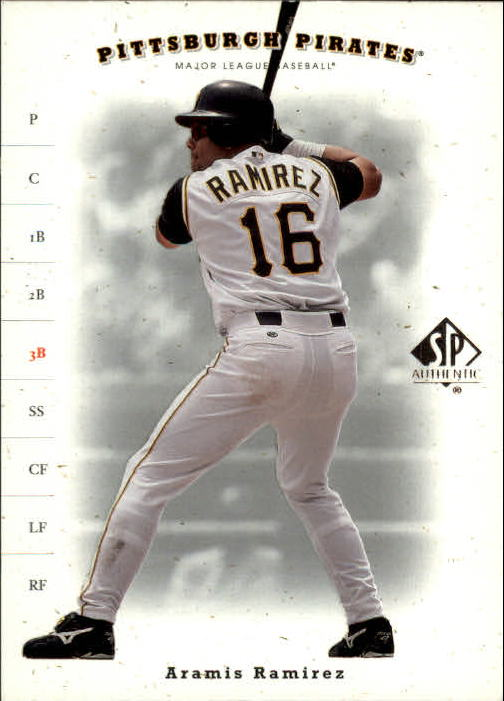 2001 SP Authentic #208 Aramis Ramirez