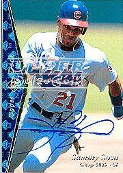 2001 SP Authentic BuyBacks #92 Sammy Sosa 93/73