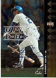 2001 SP Authentic BuyBacks #94 Sammy Sosa 95/30