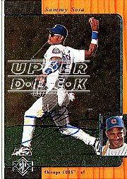 2001 SP Authentic BuyBacks #95 Sammy Sosa 96/9