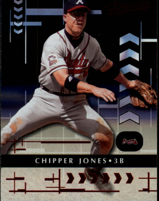 2001 Absolute Memorabilia #4 Chipper Jones