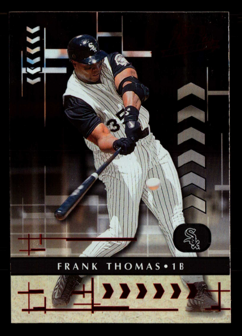 2001 Absolute Memorabilia #7 Frank Thomas