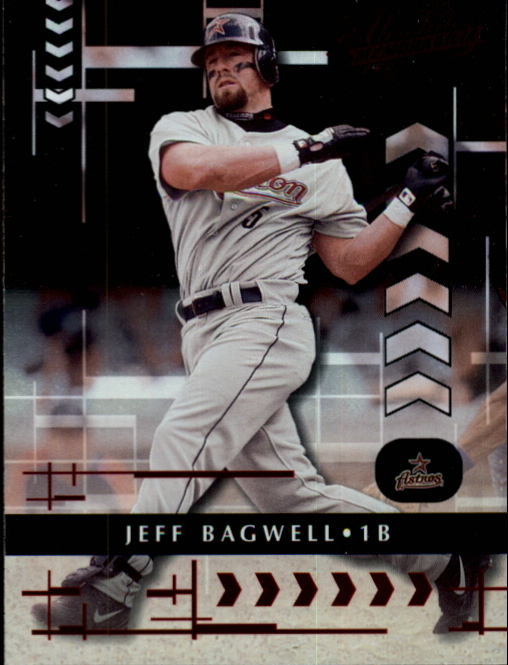 2001 Absolute Memorabilia #10 Jeff Bagwell