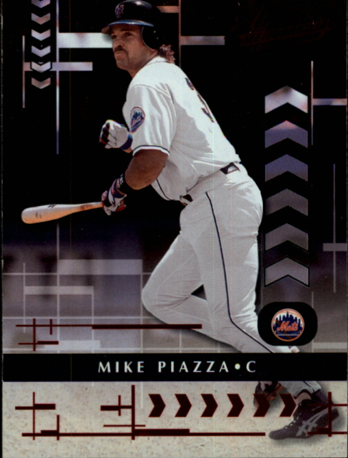 2001 Absolute Memorabilia #16 Mike Piazza
