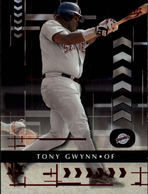2001 Absolute Memorabilia #24 Tony Gwynn