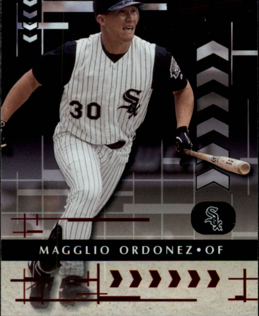 2001 Absolute Memorabilia #61 Magglio Ordonez