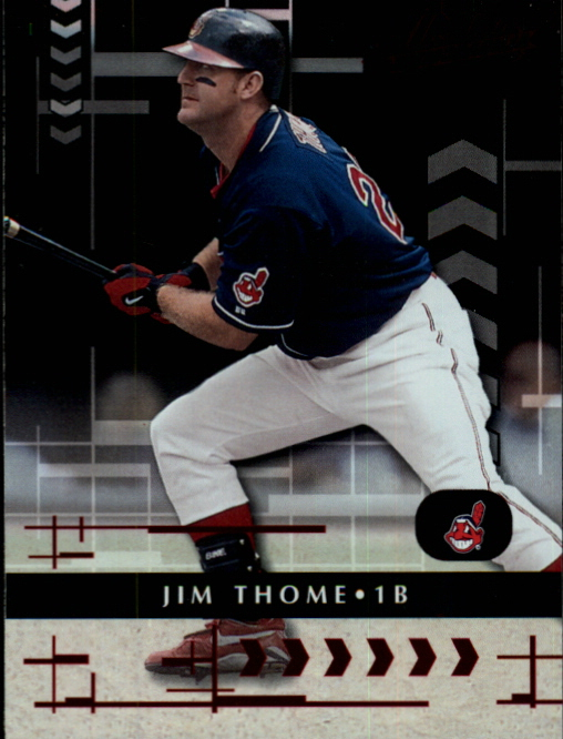 2001 Absolute Memorabilia #62 Jim Thome