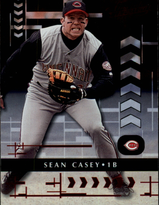 2001 Absolute Memorabilia #79 Sean Casey