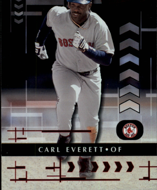 2001 Absolute Memorabilia #91 Carl Everett