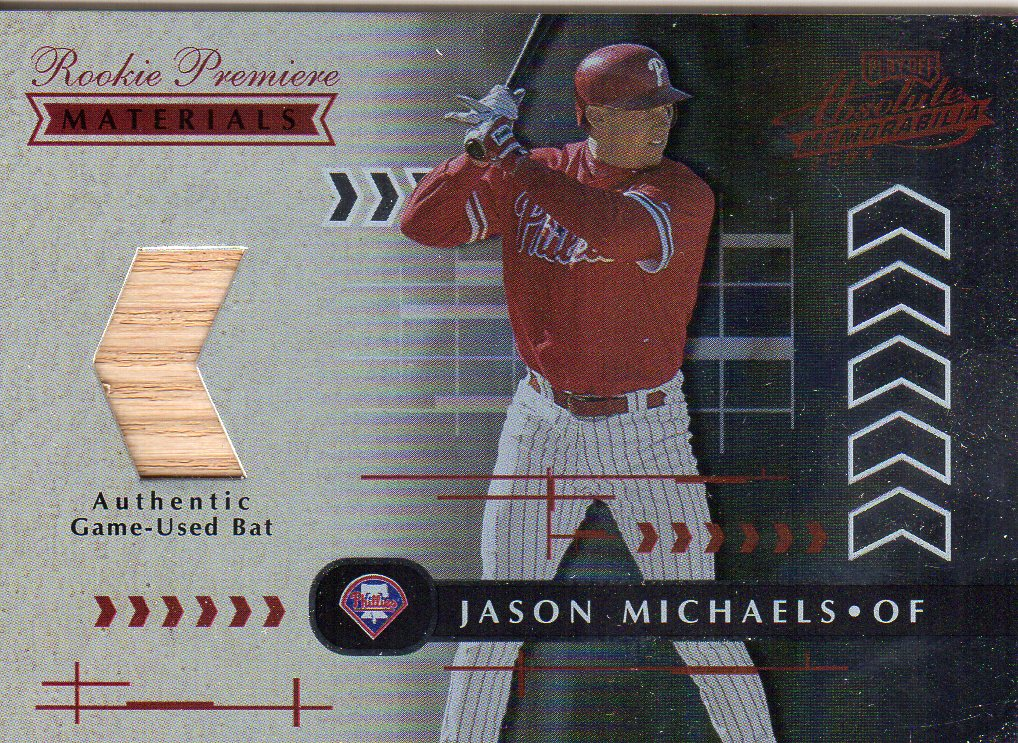 2001 Absolute Memorabilia #156 Jason Michaels RPM RC
