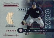 2001 Absolute Memorabilia #168 Nick Johnson RPM