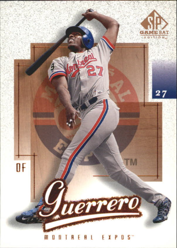 2001 SP Game Bat Edition #67 Vladimir Guerrero