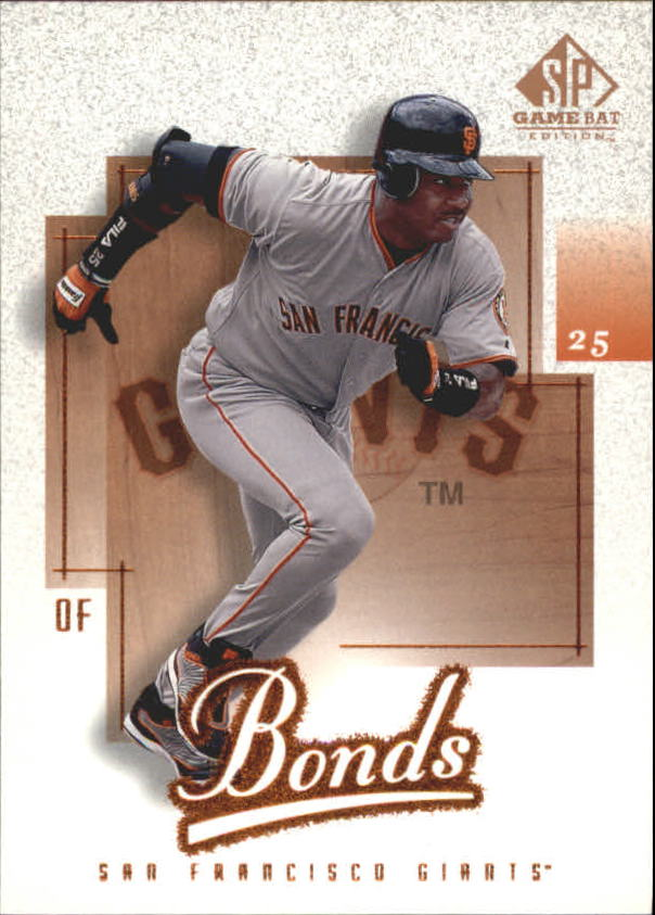 2001 SP Game Bat Edition #69 Barry Bonds