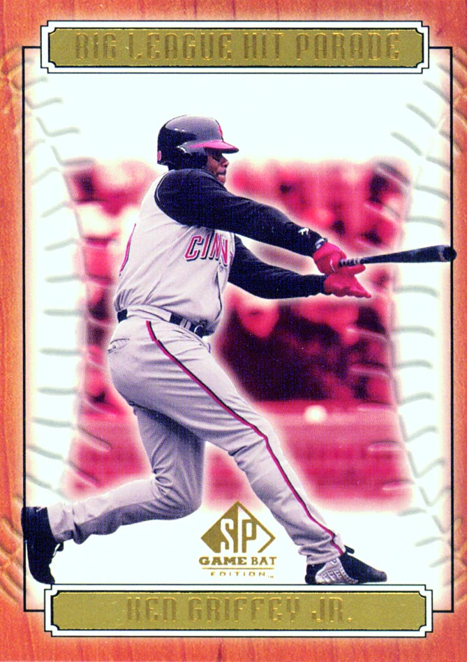 2001 SP Game Bat Edition Big League Hit Parade #HP2 Ken Griffey Jr. front image
