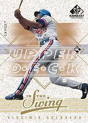 2001 SP Game Bat Edition In the Swing #IS8 Vladimir Guerrero