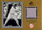 2001 SP Legendary Cuts Game Jersey #JWB Wade Boggs Jsy