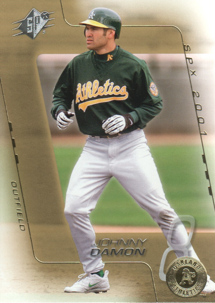 2001 SPx #4 Johnny Damon