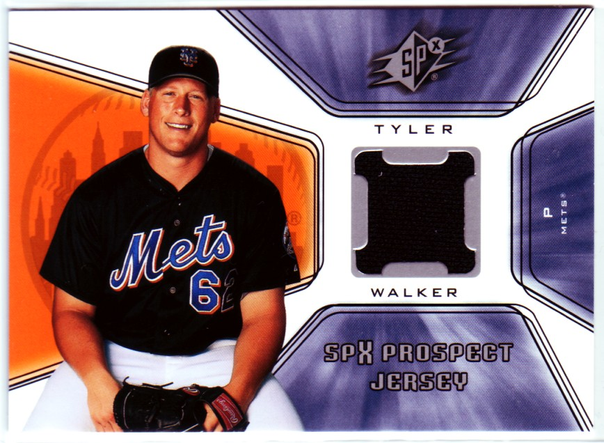 2001 SPx #125 Tyler Walker JSY RC