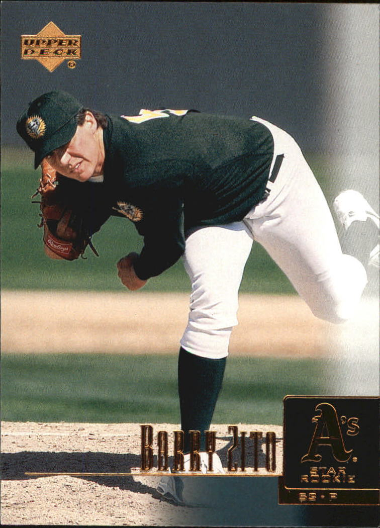 2001 Upper Deck #4 Barry Zito SR