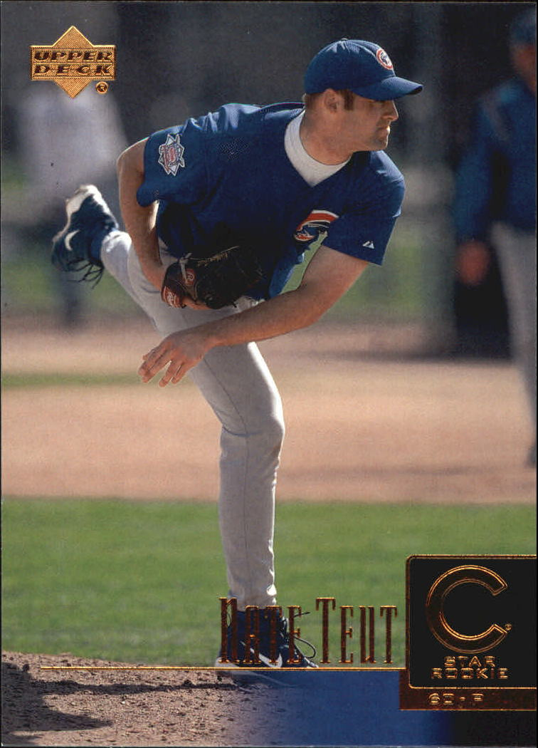 2001 Upper Deck #276 Nate Teut SR RC
