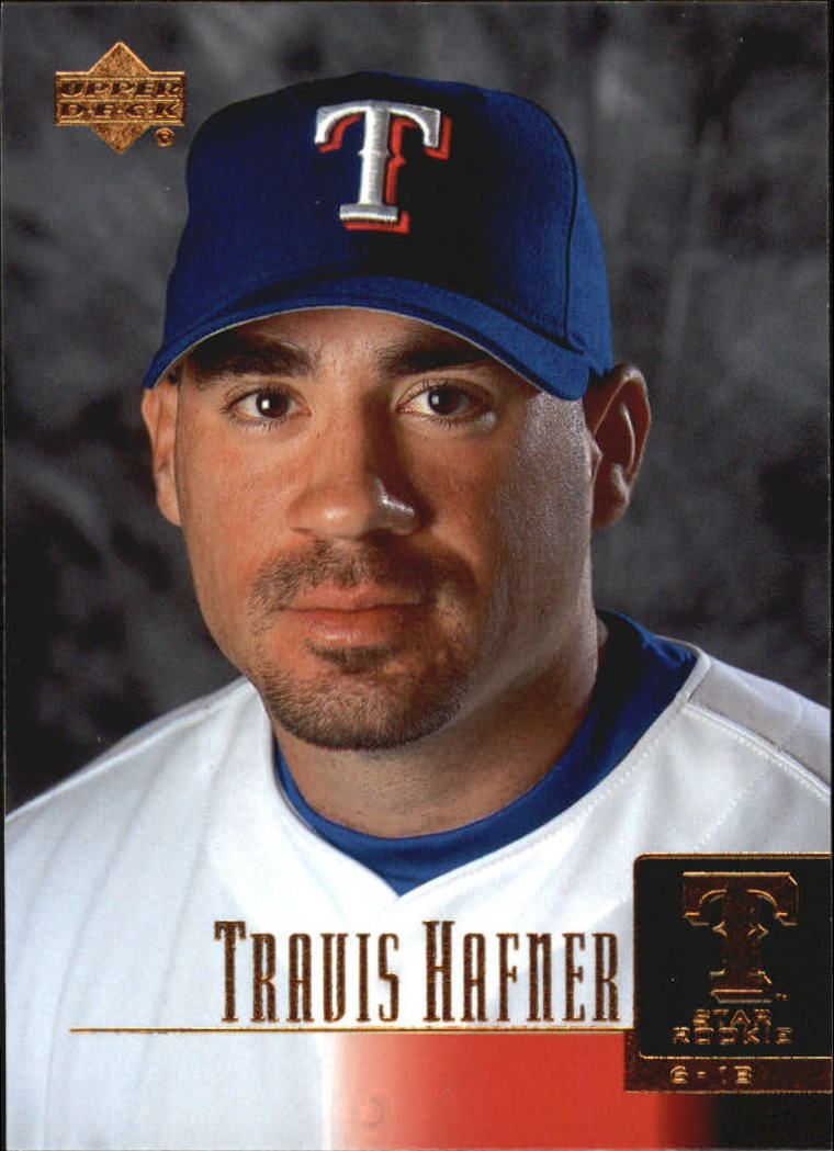 2001 Upper Deck #286 Travis Hafner SR RC
