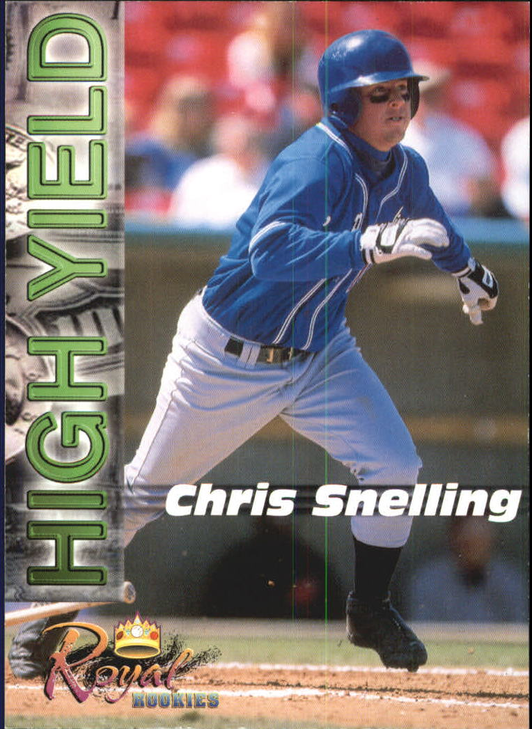 2001 Royal Rookies Futures High Yield #HY1 Chris Snelling