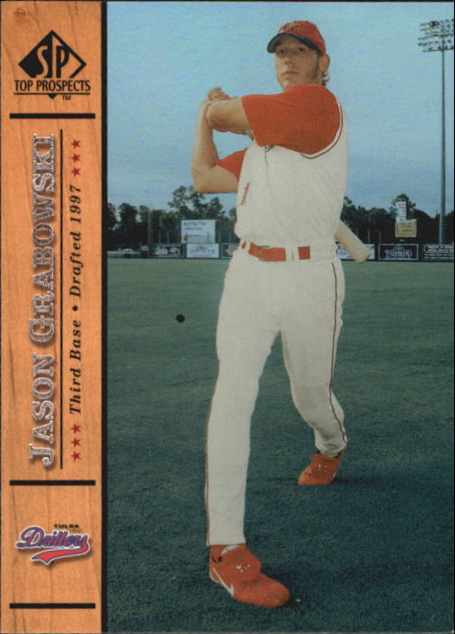 2001 SP Top Prospects #24 Jason Grabowski