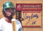 2001 SP Top Prospects Chirography #KK Kenny Kelly