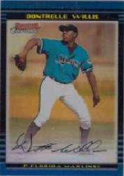 2002 Bowman Chrome Draft Refractors #120 Dontrelle Willis