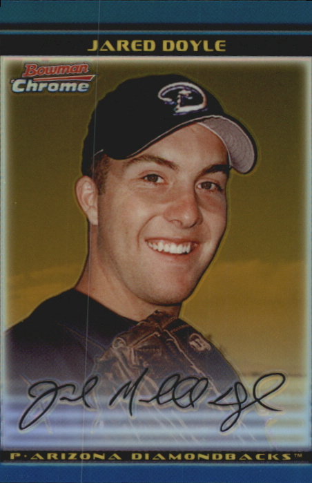 2002 Bowman Chrome Draft Gold Refractors #22 Jared Doyle
