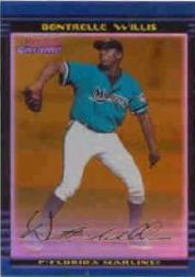 2002 Bowman Chrome Draft Gold Refractors #120 Dontrelle Willis