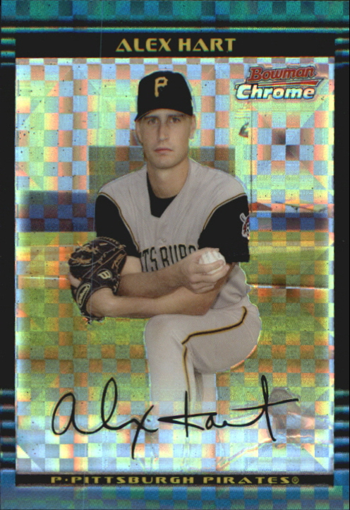 2002 Bowman Chrome Draft X-Fractors #85 Alex Hart