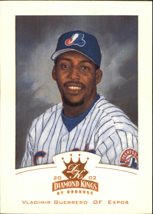 2002 Diamond Kings #1 Vladimir Guerrero
