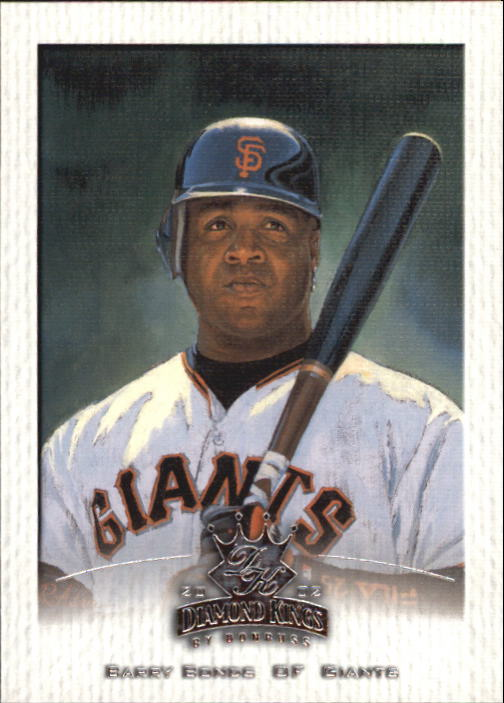 2002 Diamond Kings #18 Barry Bonds