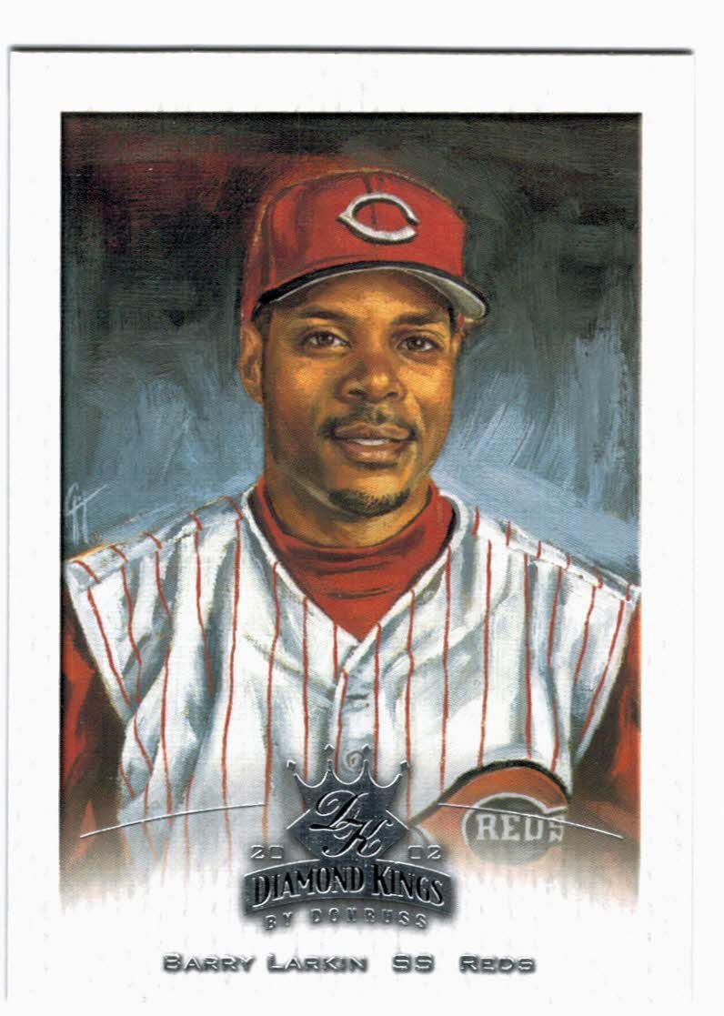 2002 Diamond Kings #20 Barry Larkin
