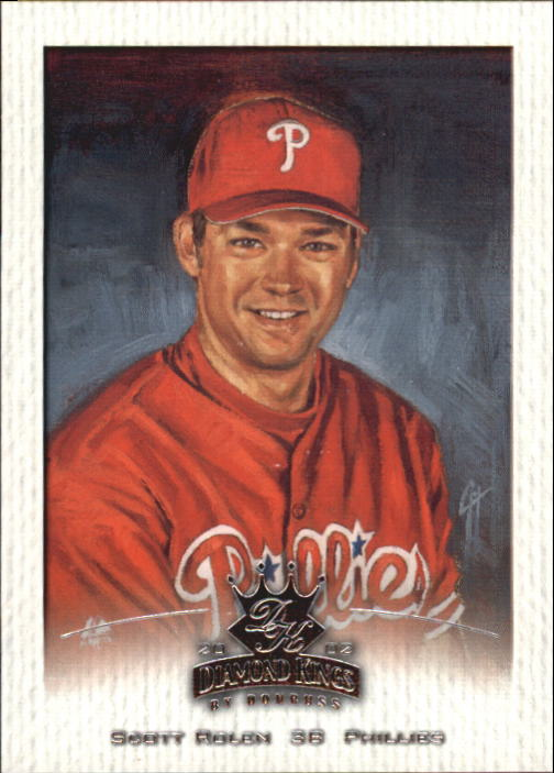 2002 Diamond Kings #21 Scott Rolen