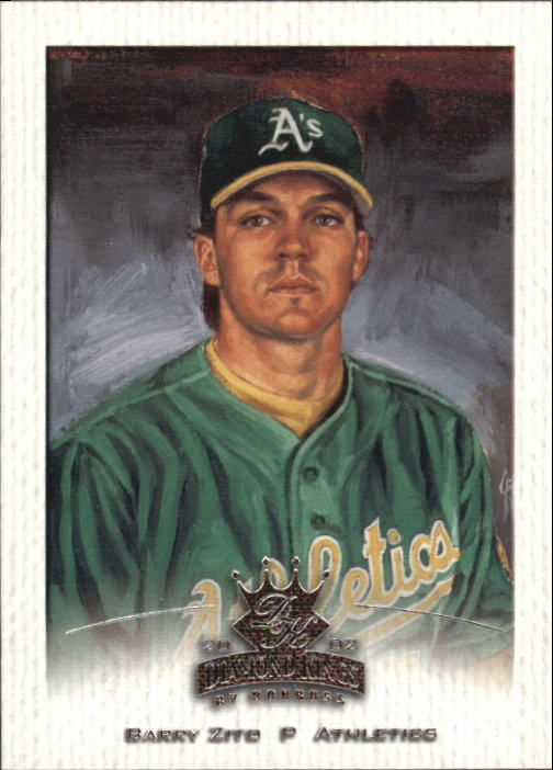 2002 Diamond Kings #22 Barry Zito