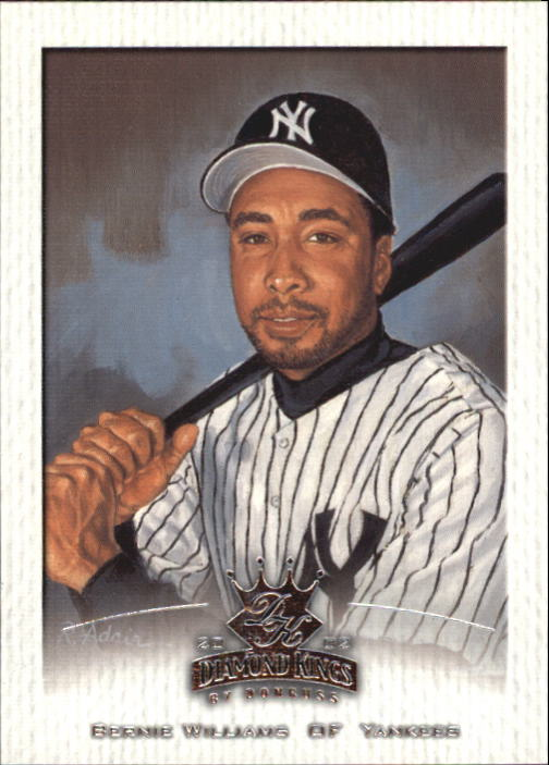 2002 Diamond Kings #30 Bernie Williams
