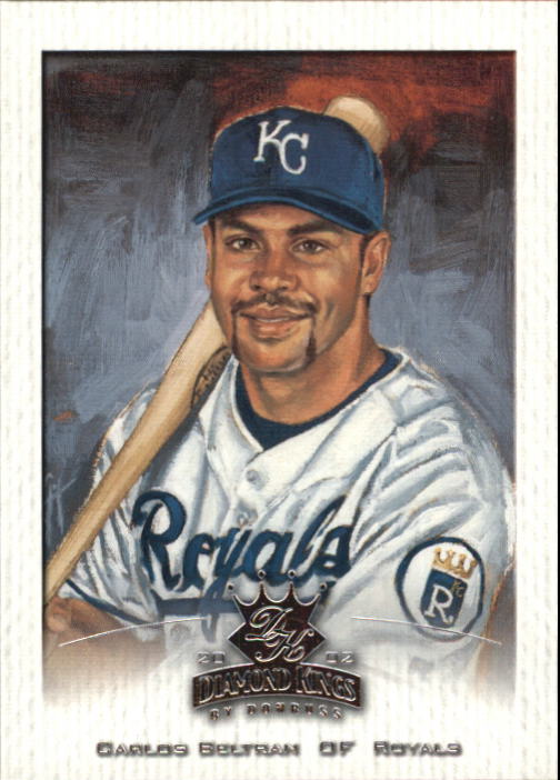 2002 Diamond Kings #42 Carlos Beltran
