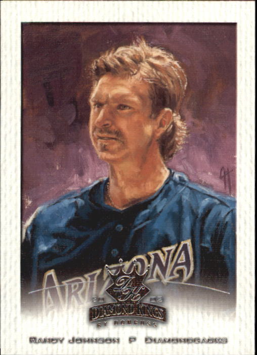 2002 Diamond Kings #45 Randy Johnson