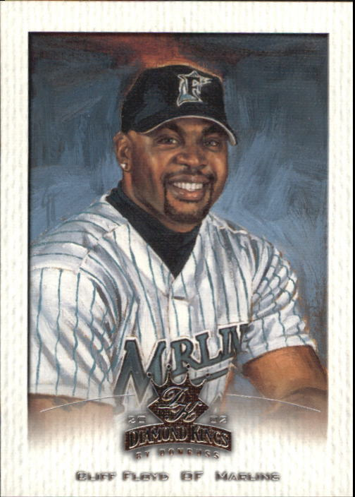 2002 Diamond Kings #50 Cliff Floyd