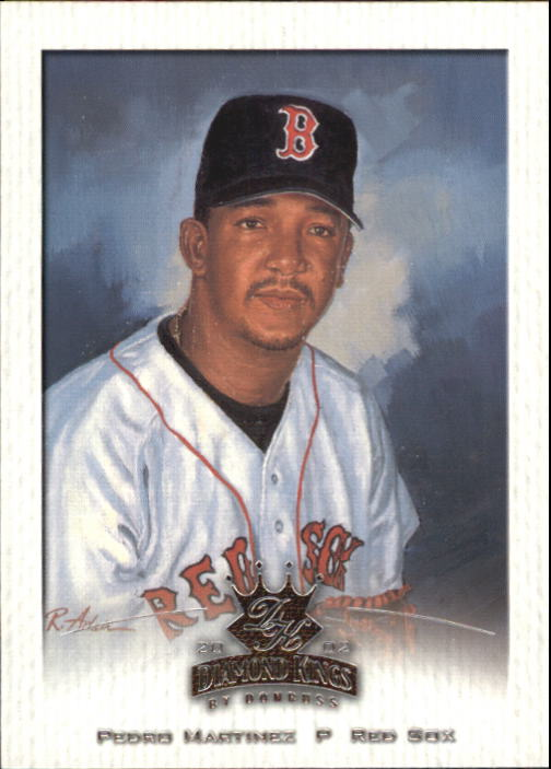 2002 Diamond Kings #51 Pedro Martinez